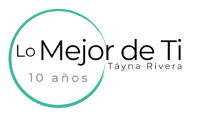 Logo Lo Mejor de Ti con Táyna Rivera